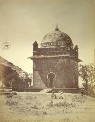 Muslim tomb next to the one used as a mess house, Khuldabad (Rauza).